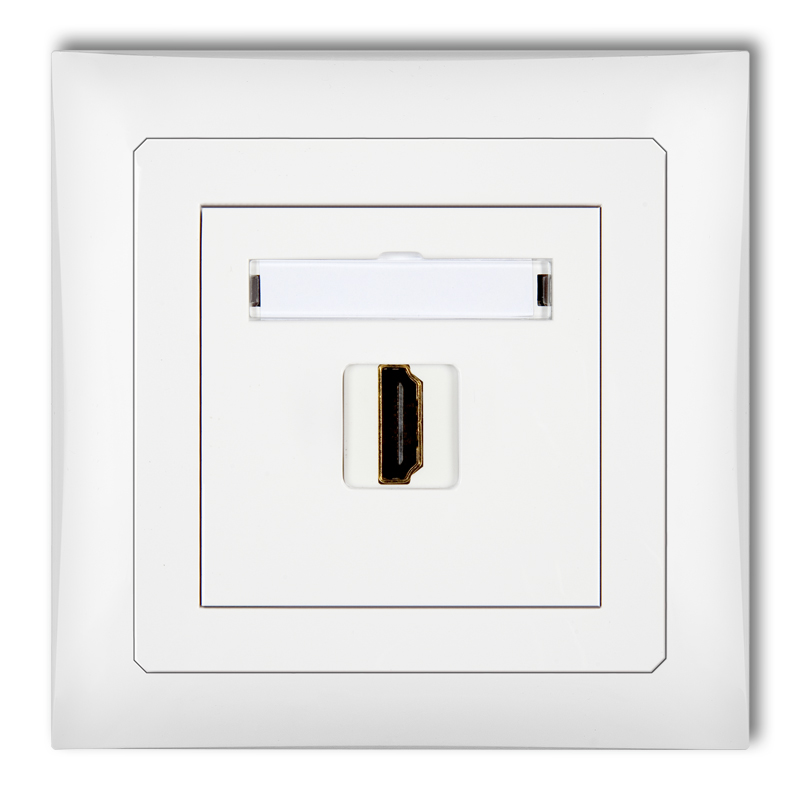 HDMI single socket