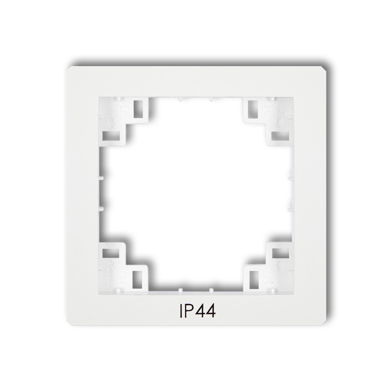 The intermediate frame for switches IP44