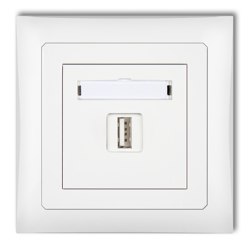 Single USB charger, 5V, 1A