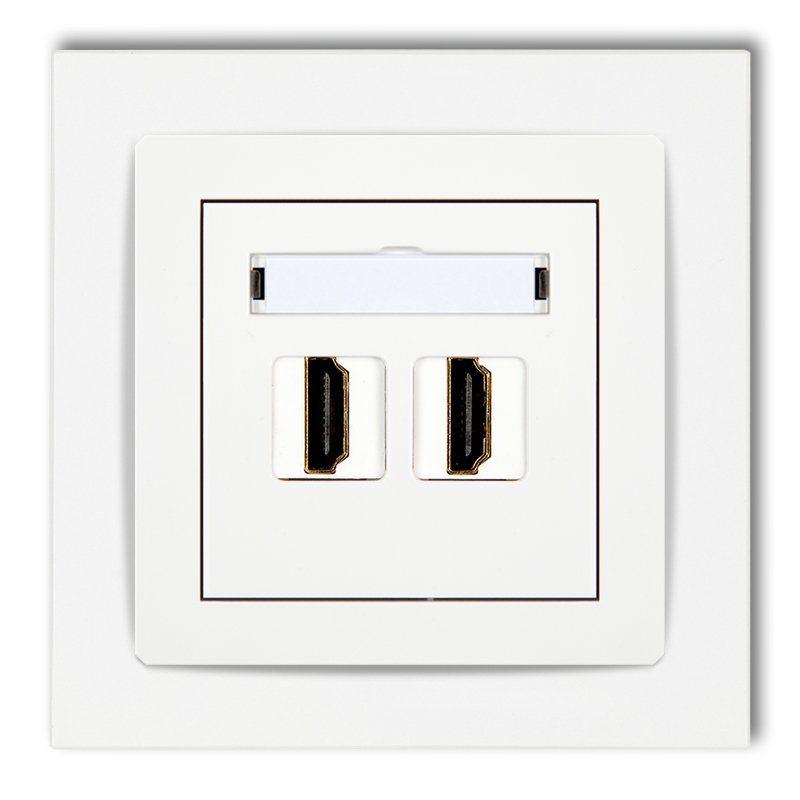 HDMI double socket