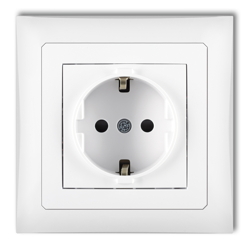 Single socket with earth SCHUKO 2P+Z