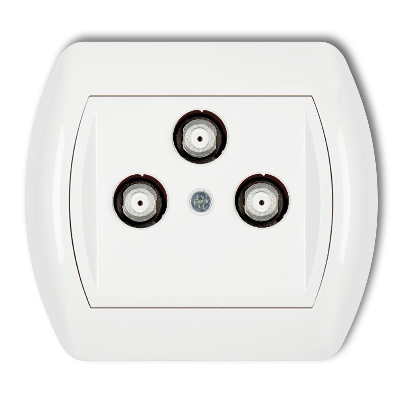 3F DATA (VECTRA) multimedia socket