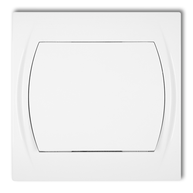 Two-way switch (single push button without pictogram)