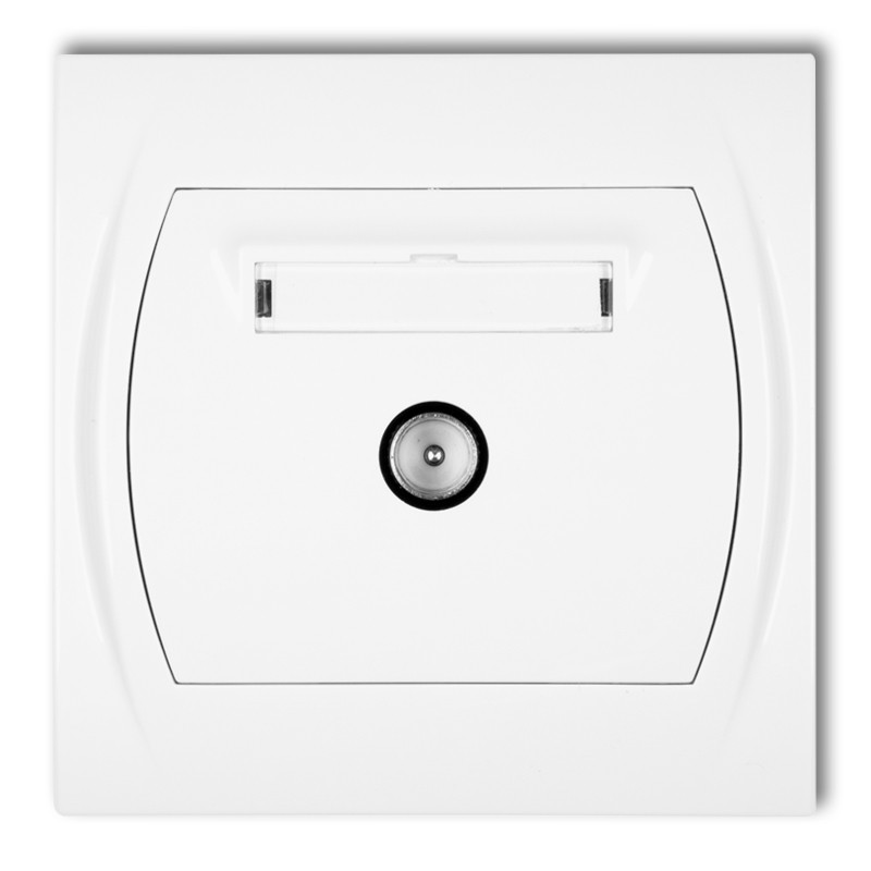 Single antenna TV socket
